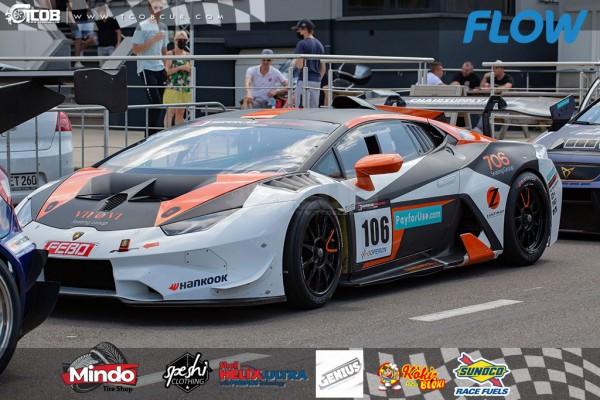 #106 Lamborghini Super Trofeo, driven y Bob Herber